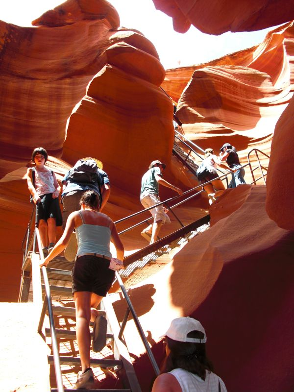 Antelope Canyon Usa Sights Com