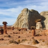 Toadstool Hoodoos - Paria Rimrocks